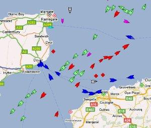 vessel monitoring traffic